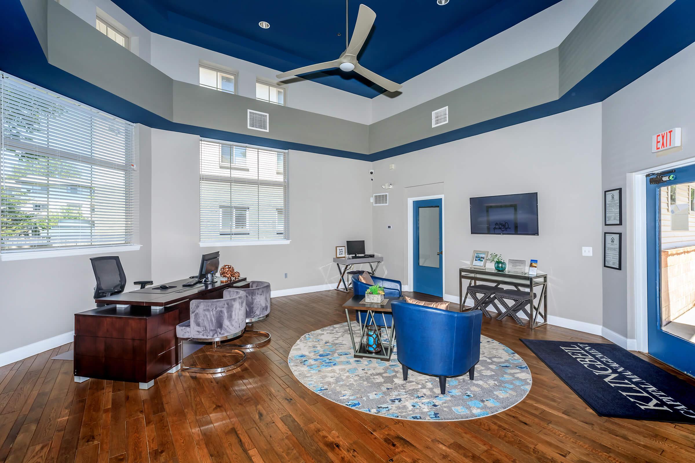 Common Room at The Allante Apartments in Alexandria, VA