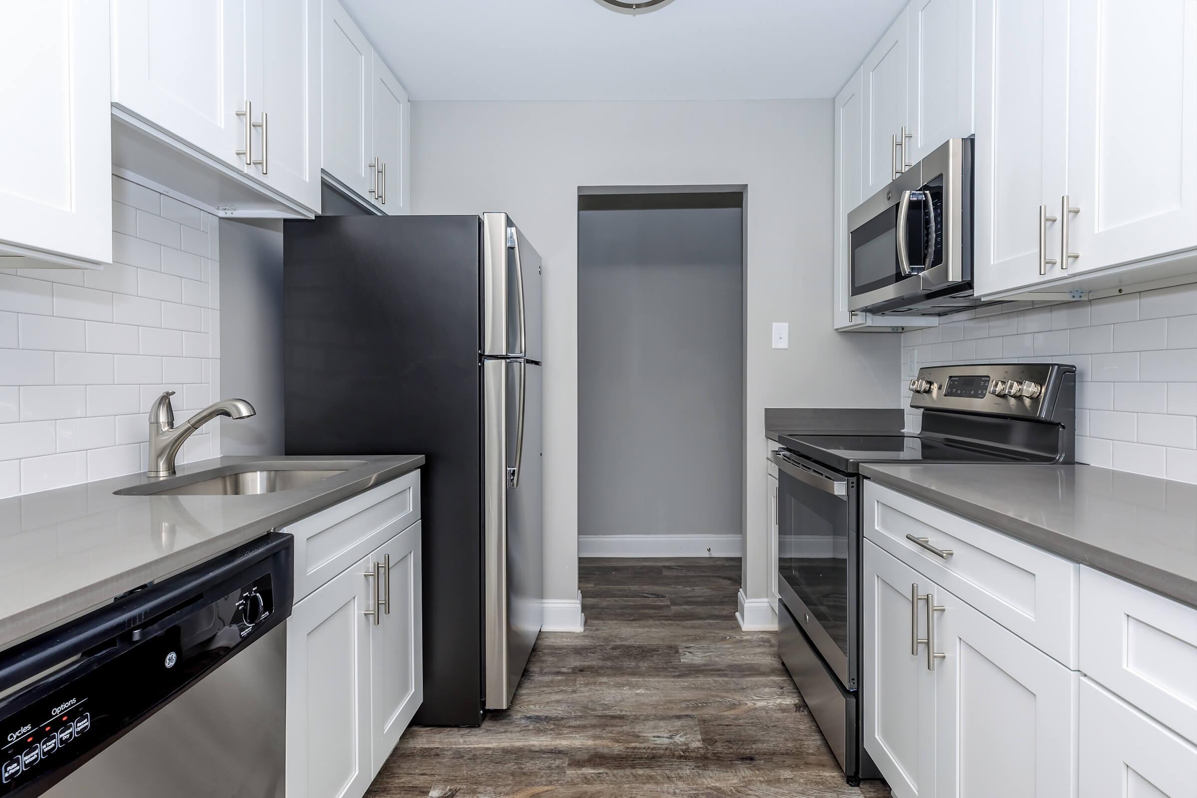 Kitchen at The Allante Apartments in Alexandria, VA