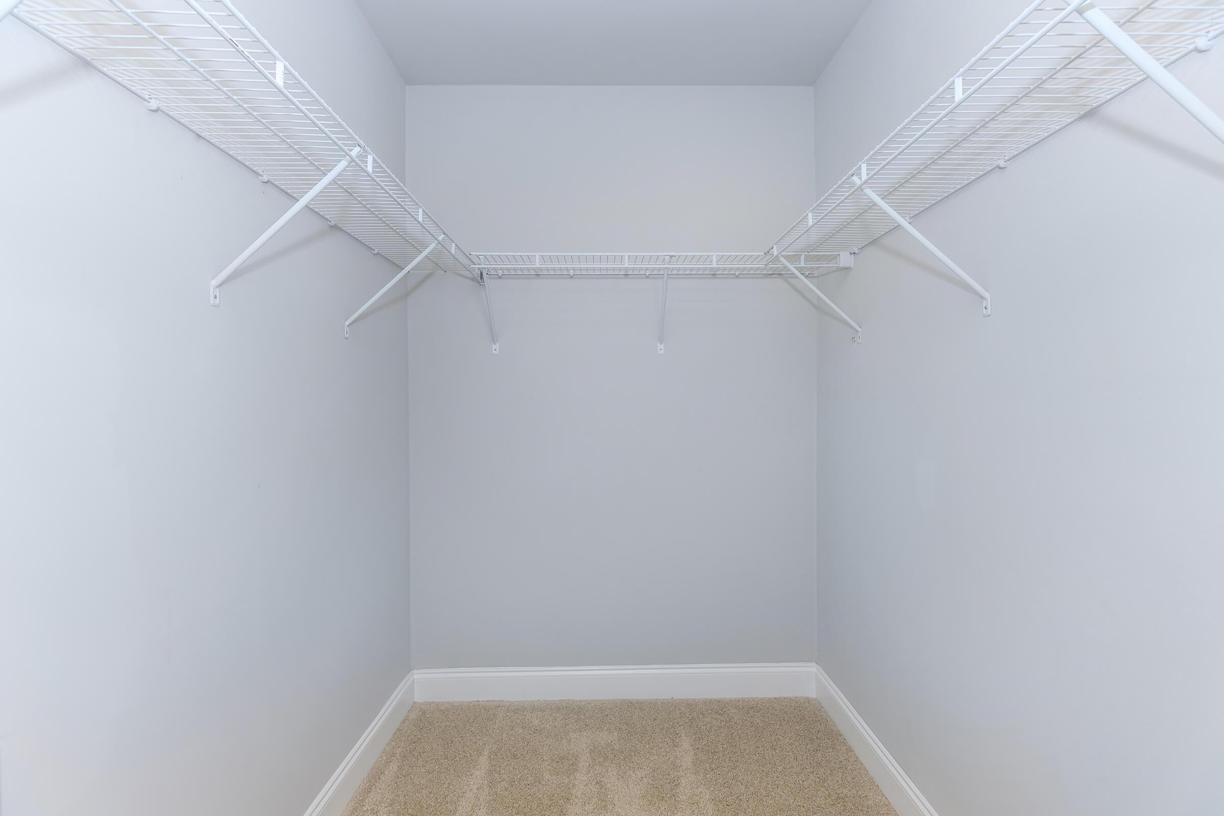Closet at The Allante Apartments in Alexandria, VA