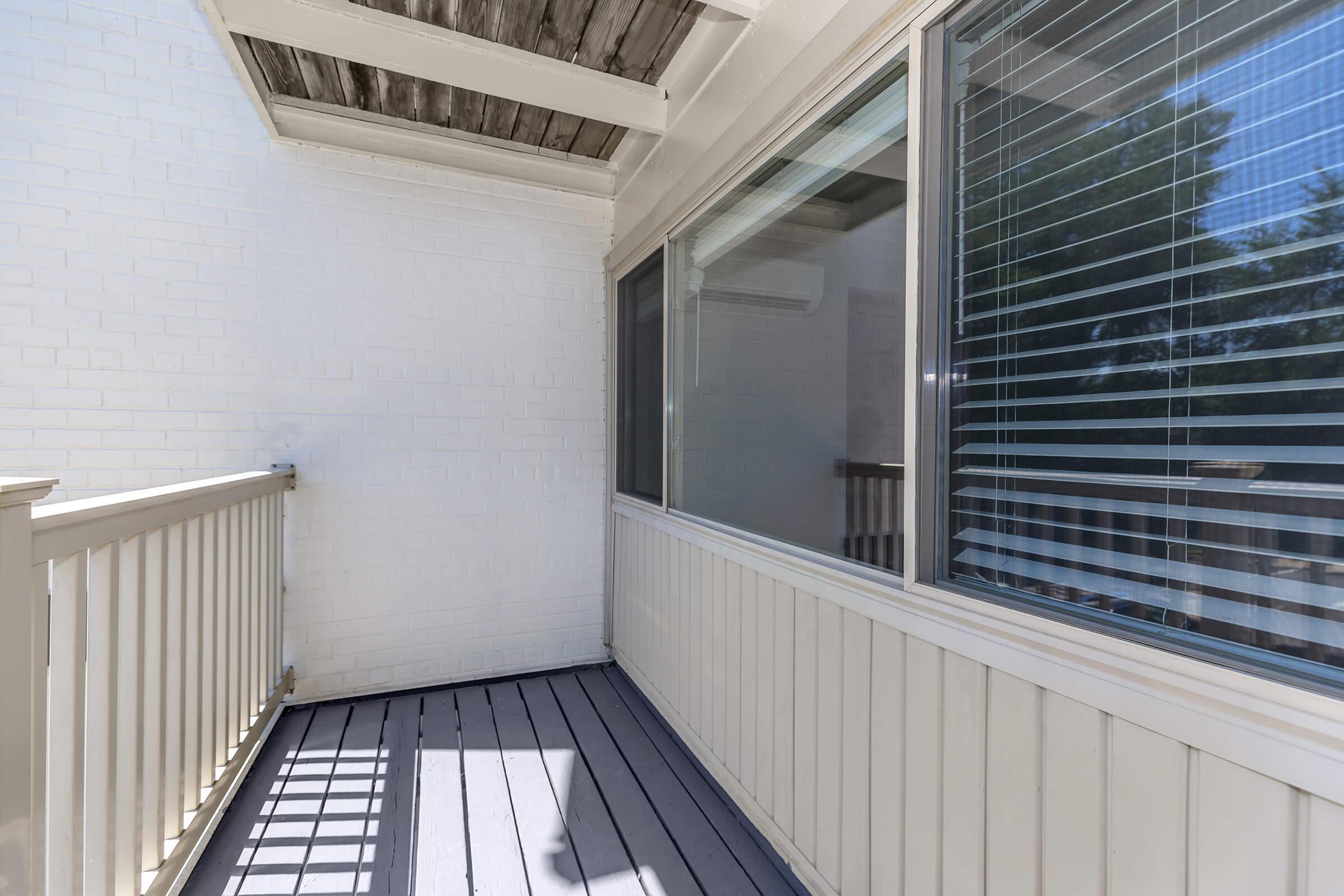 Balcony at The Allante Apartments in Alexandria, VA