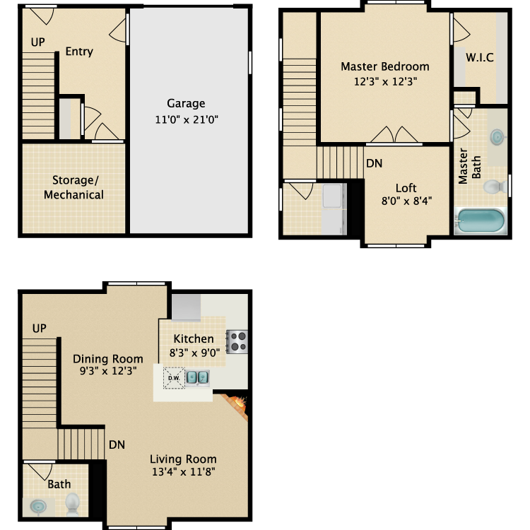 The Hayes floor plan image