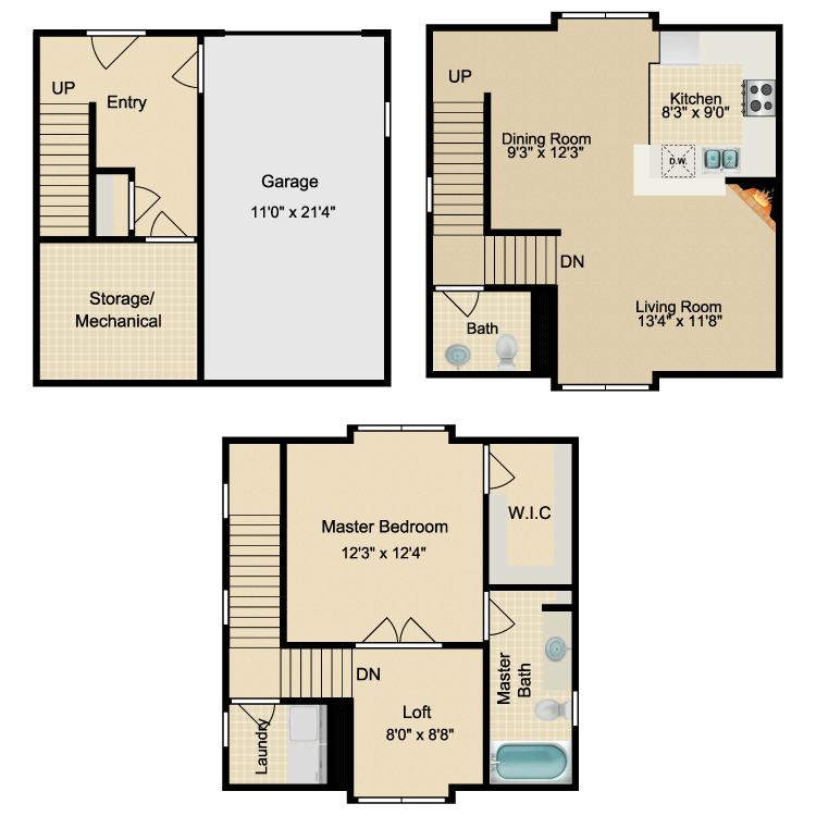 Floor plan image of The Hayes