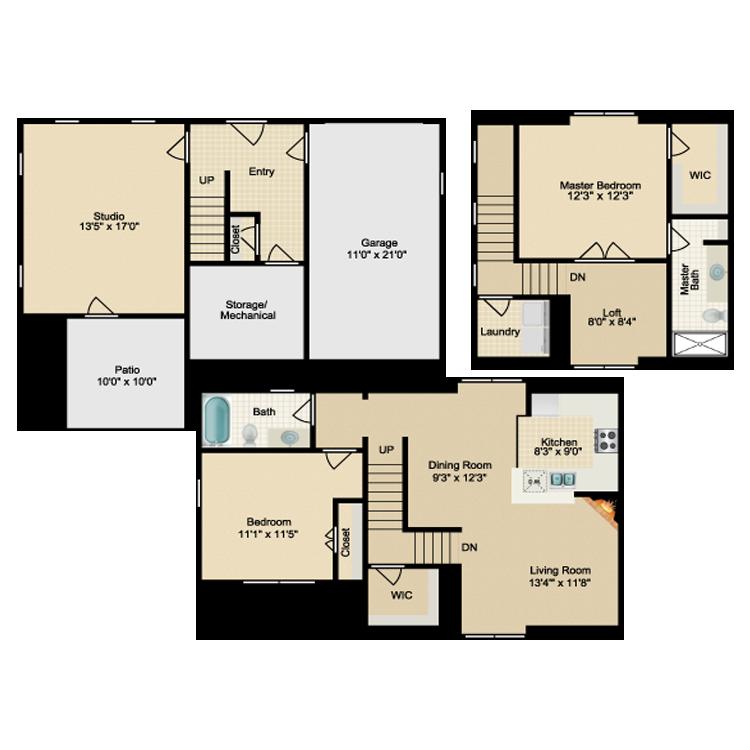 Floor plan image of The Inwood