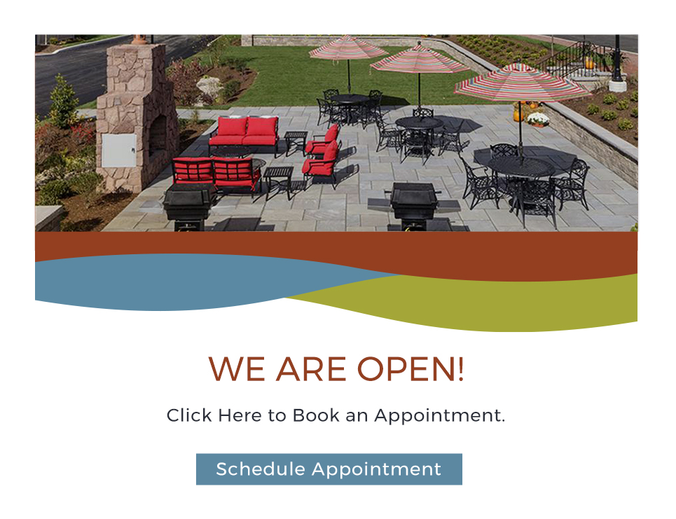 We are open! Click here to book an appointment.