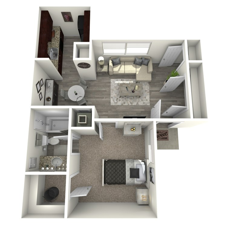 Floor plan image of Maple I