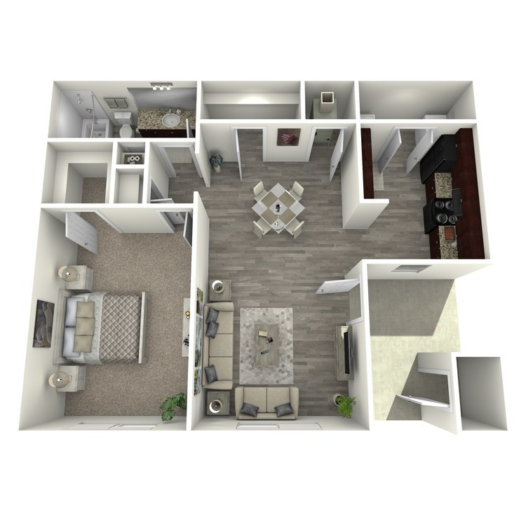 Floor plan image of Maple II