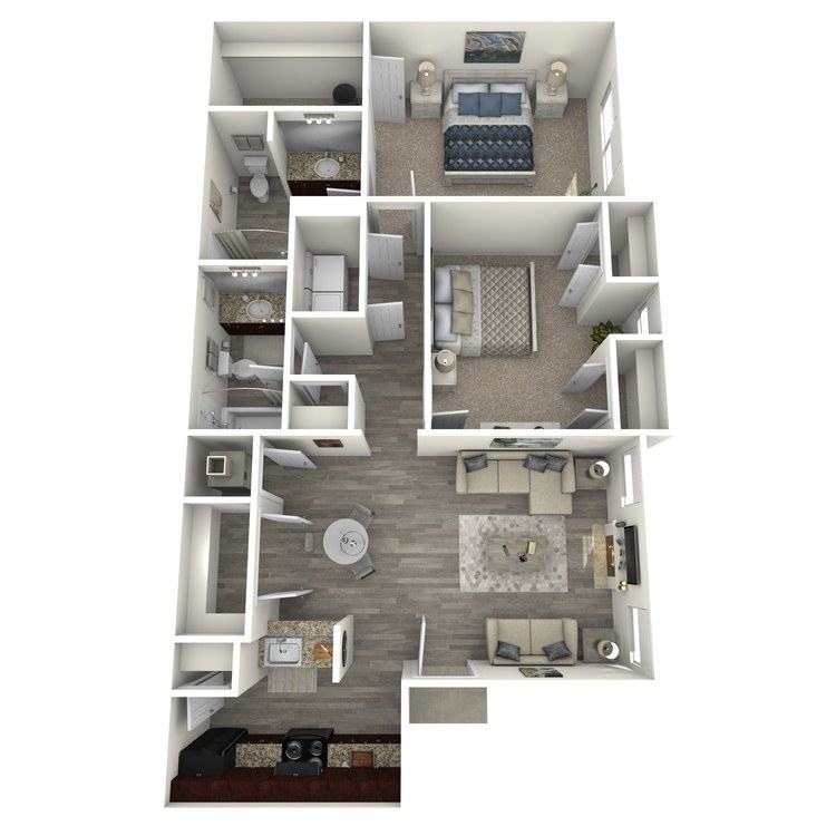 Floor plan image of Sassafras