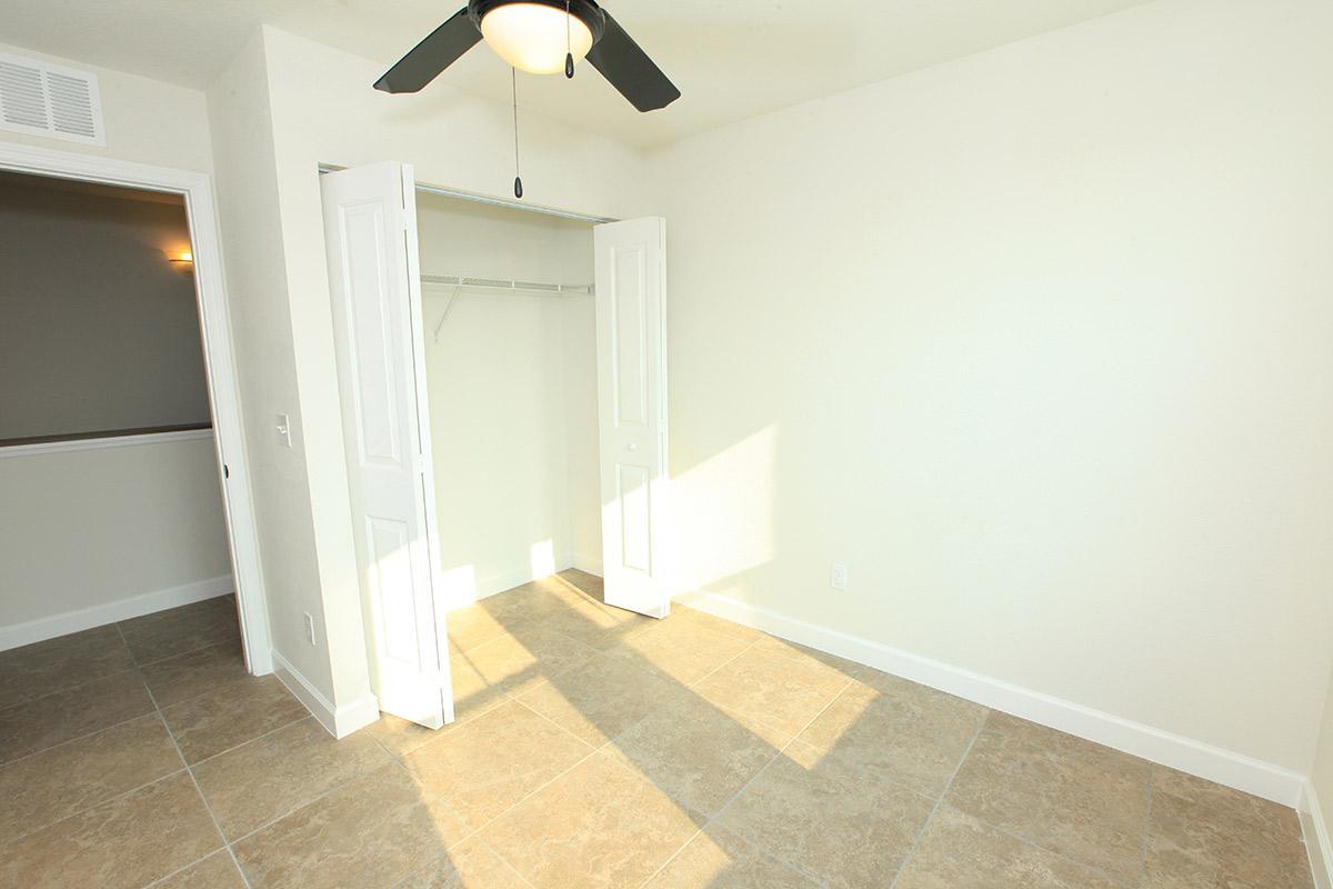 a tiled floor in a room