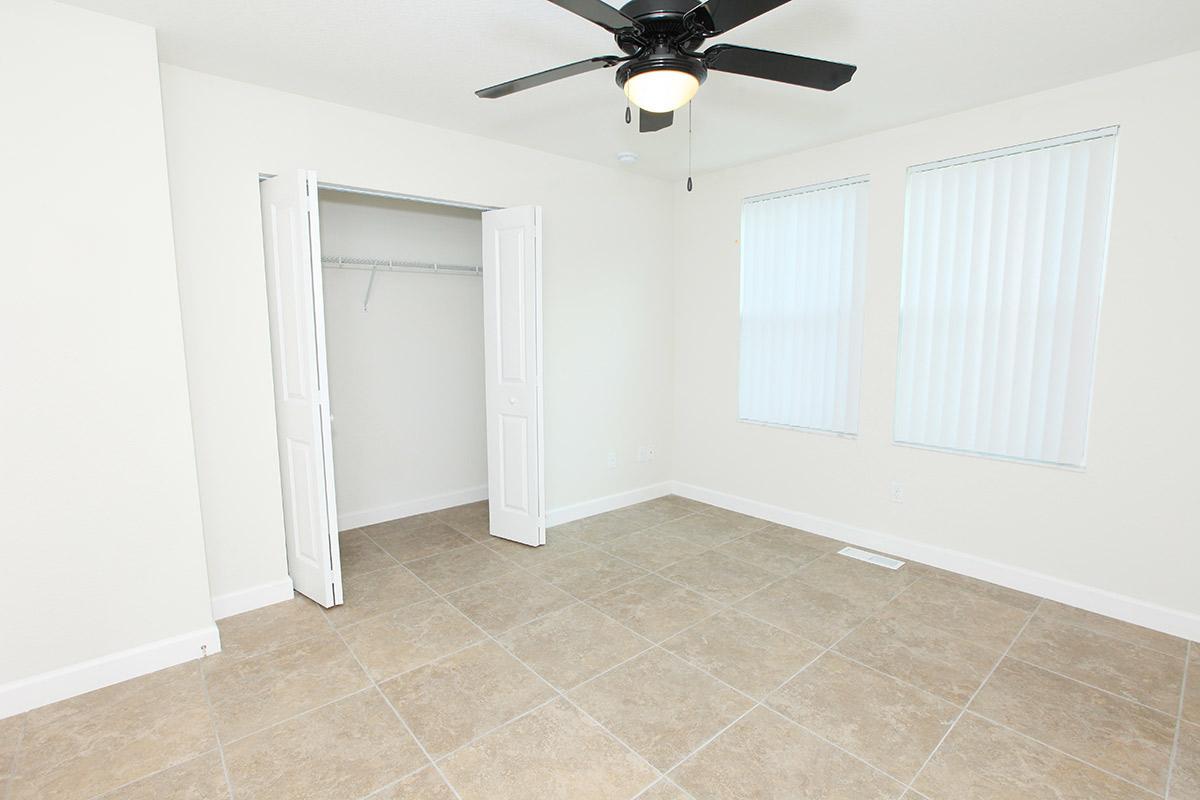 a white tiled floor