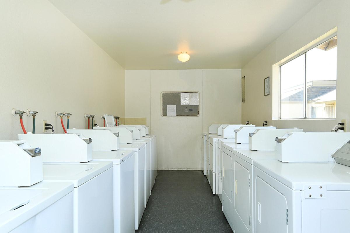 This is the laundry facility at Ashbrier-Sandalwood