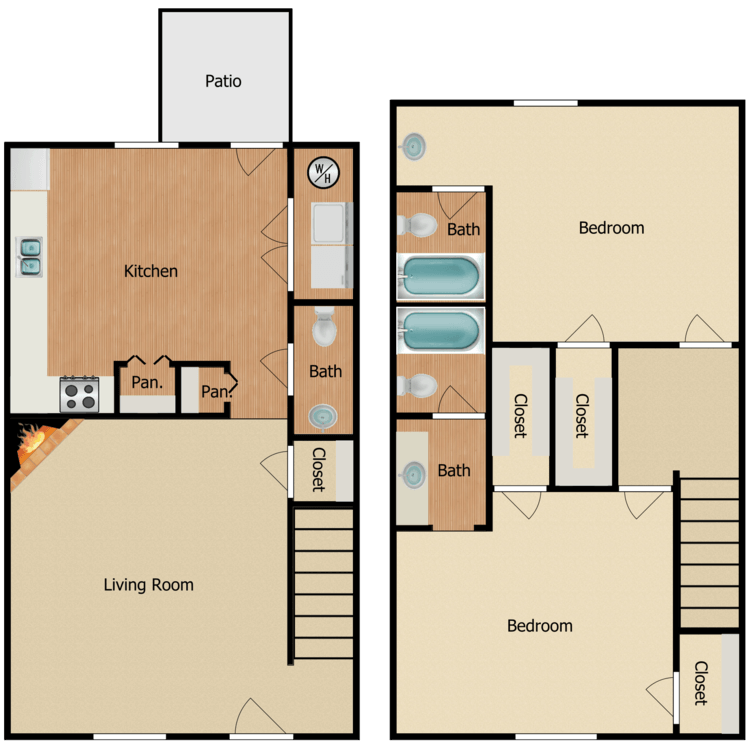 Floor plan image of Signal