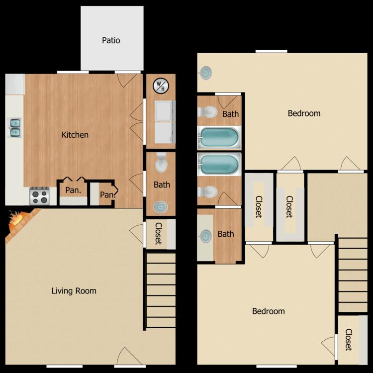 Floor plan image of Cumberland Rehab