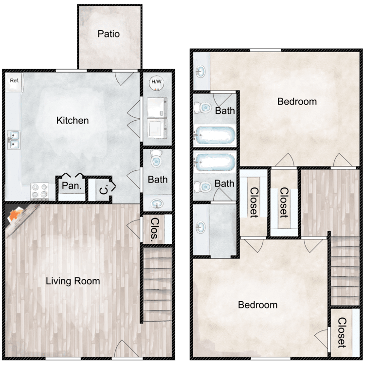 Floor plan image of Signal Rehab