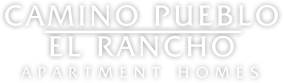 Camino Pueblo and El Rancho Apartment Homes Logo