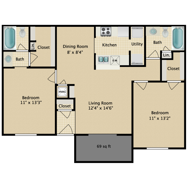 Floor plan image of Haven