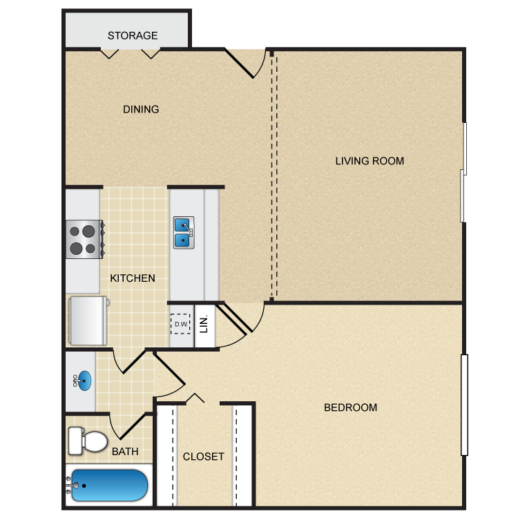 Floor plan image of The Pippen