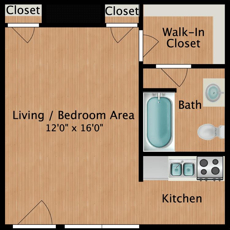 Floor plan image of The Carter