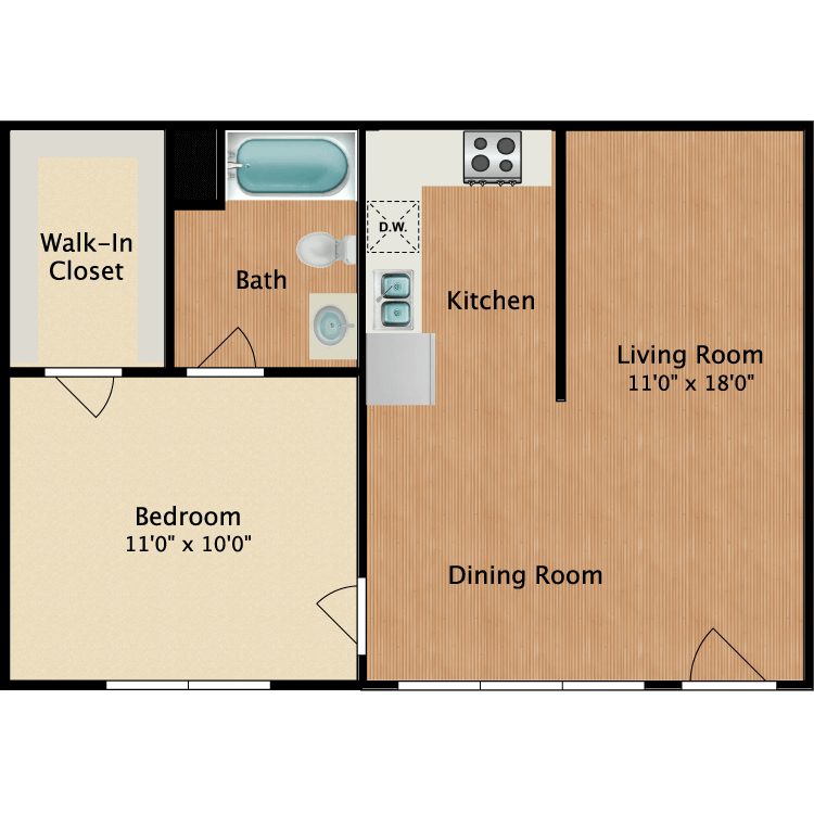 Floor plan image of The Dolly