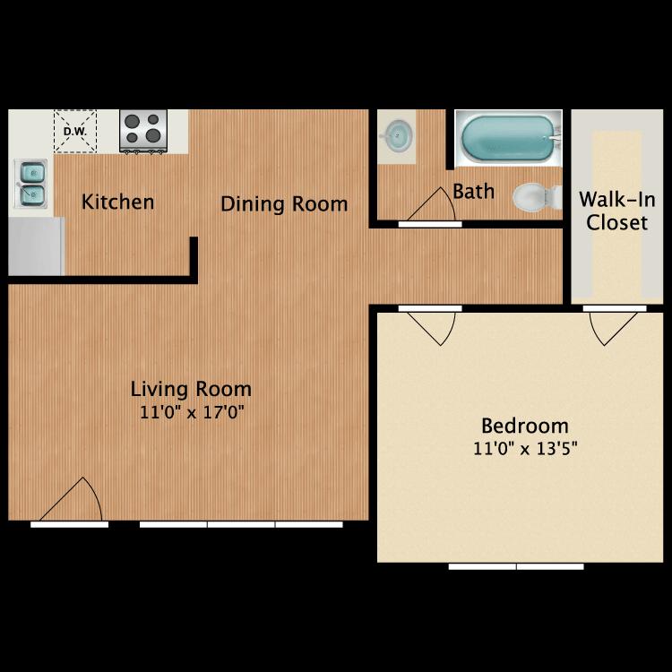 Floor plan image of The Ryman