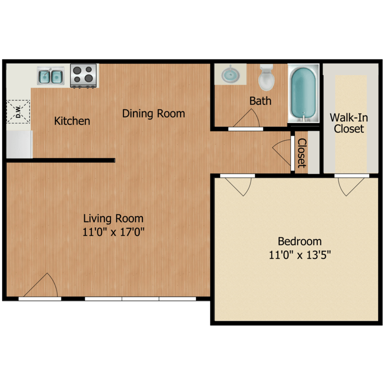 Floor plan image of The Ryman