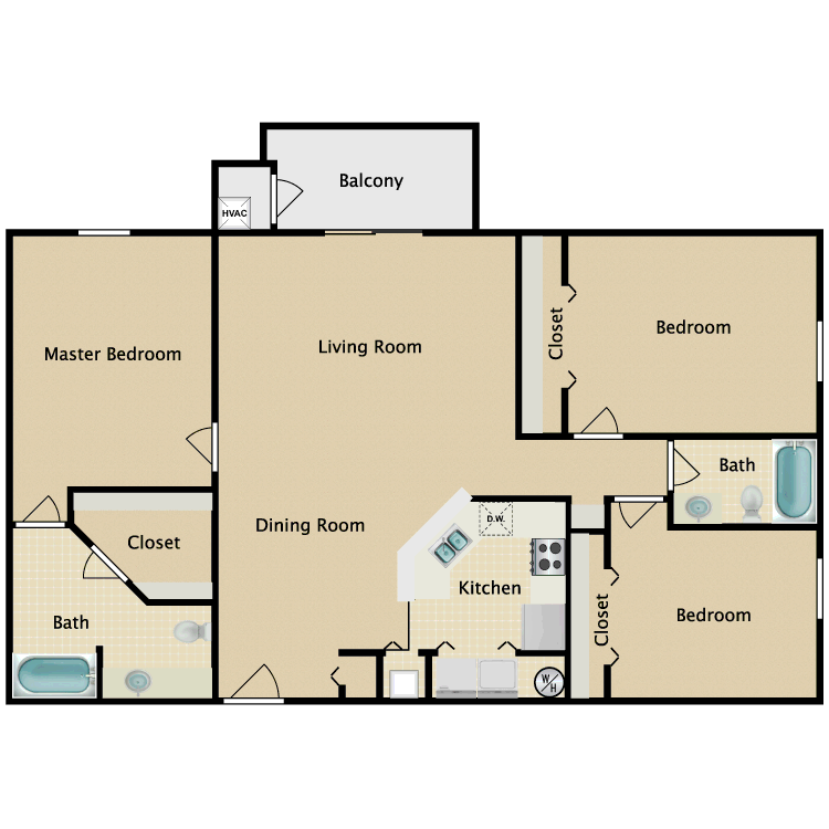 Floor plan image of Stamford Luxury