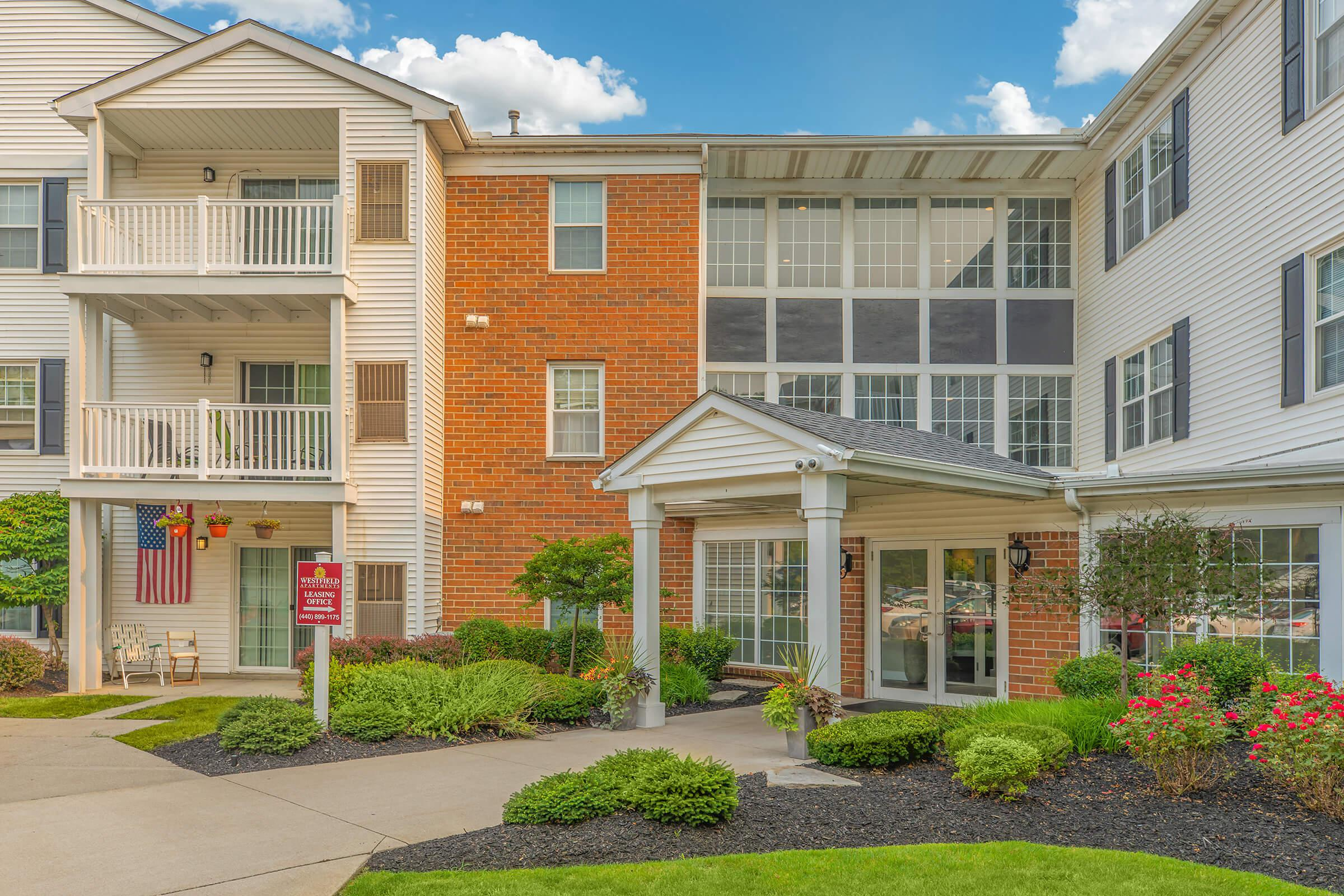 YOUR NEW HOME AWAITS AT WESTFIELD APARTMENTS