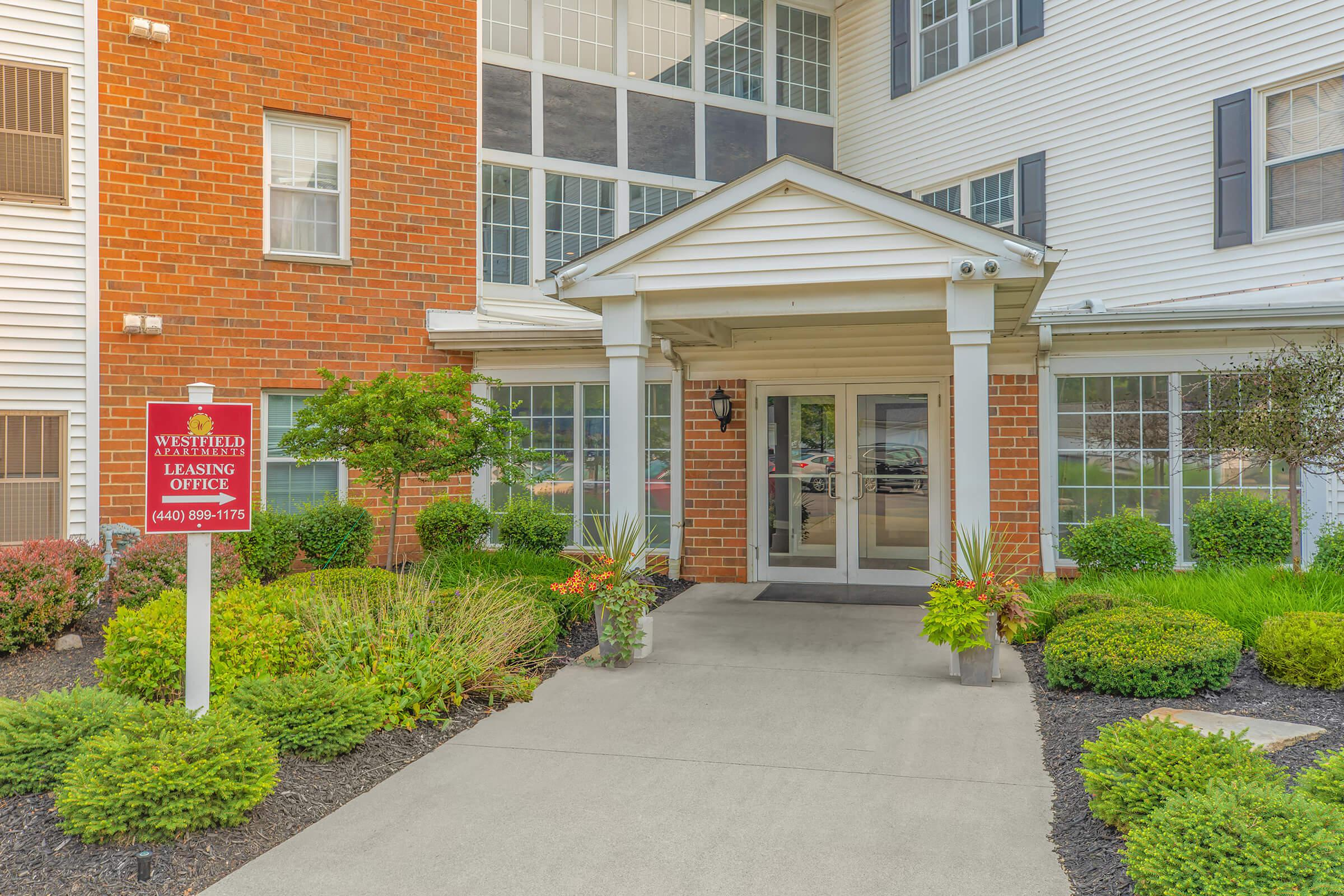 WE CAN'T WAIT TO MEET YOU AT WESTFIELD APARTMENTS