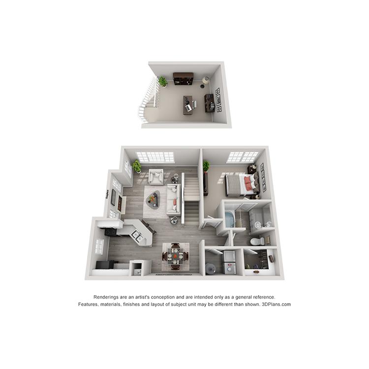 Floor plan image of A3 Loft