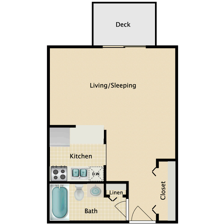 Floor plan image of Micro