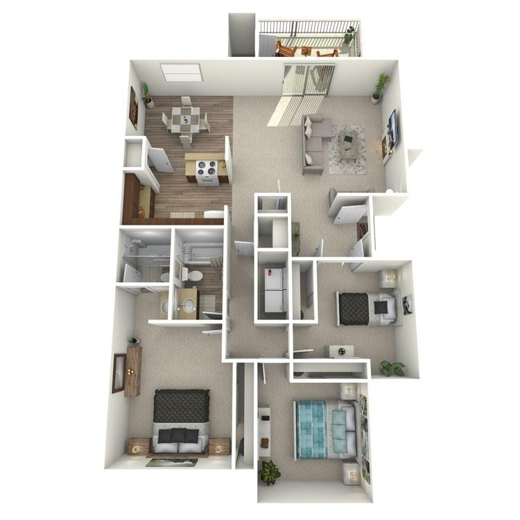 Floor plan image of Princeton