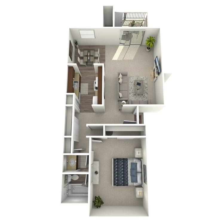 Floor plan image of Harvard