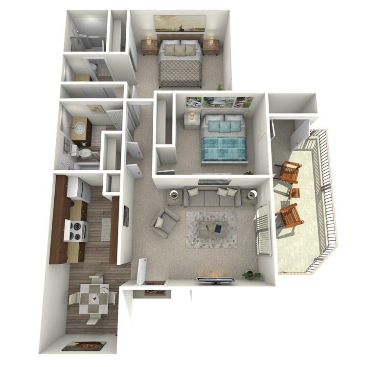 Floor plan image of Yale