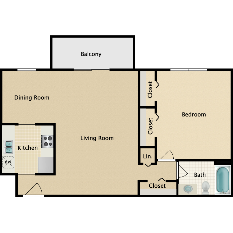 Floor plan image of Bryant