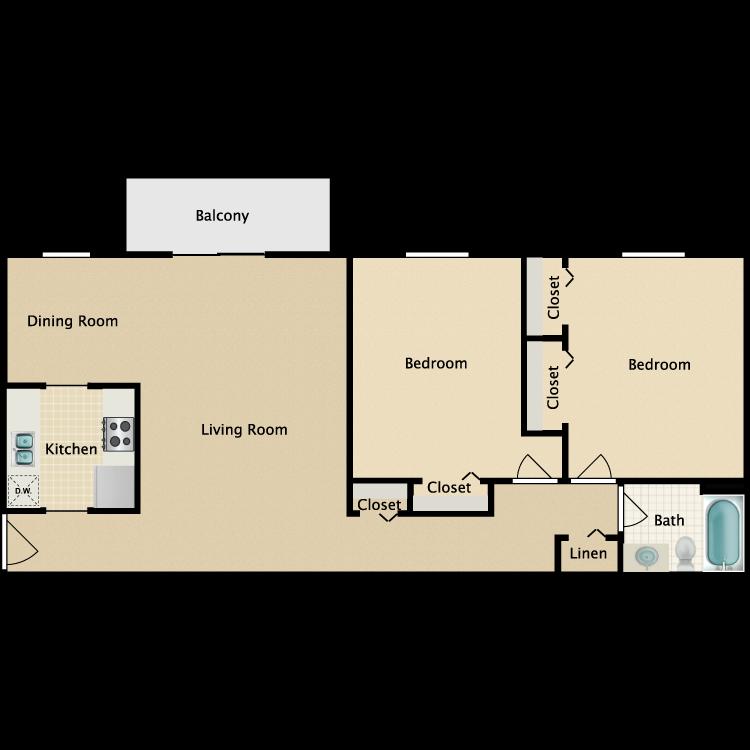 Floor plan image of Gramercy