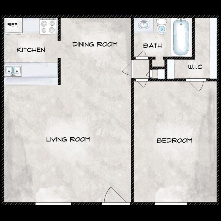 Genesis floor plan image