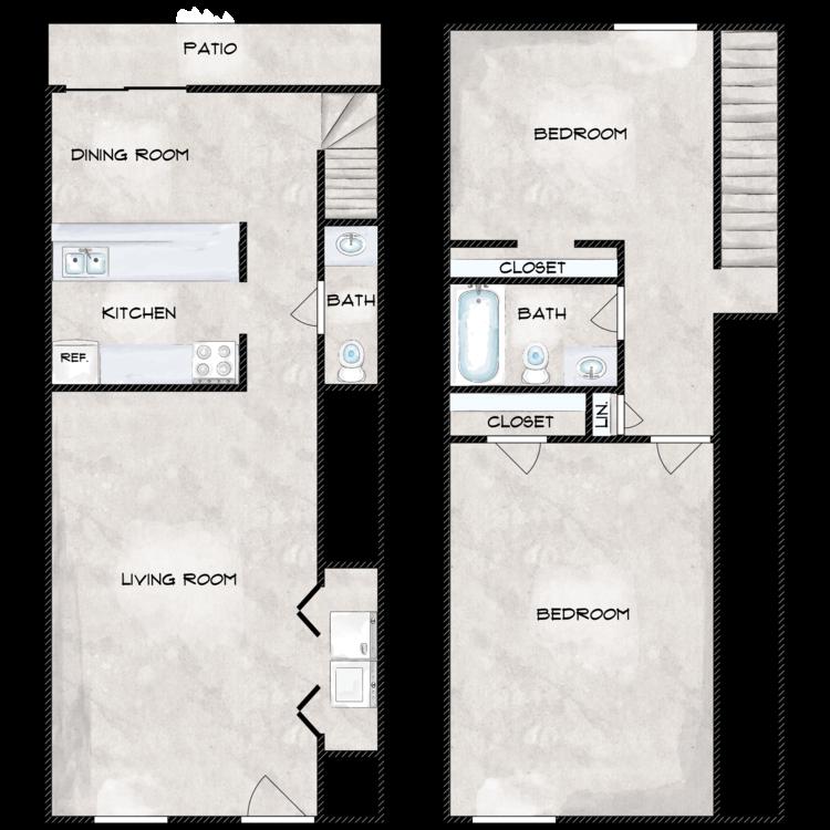 Ara Bella floor plan image