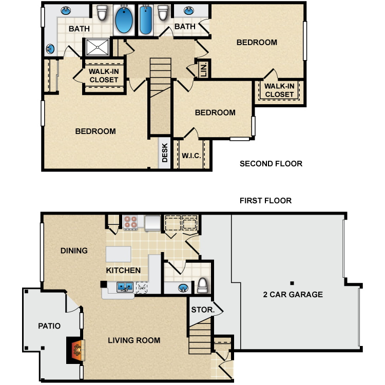 Floor plan image of C2 Cezanne