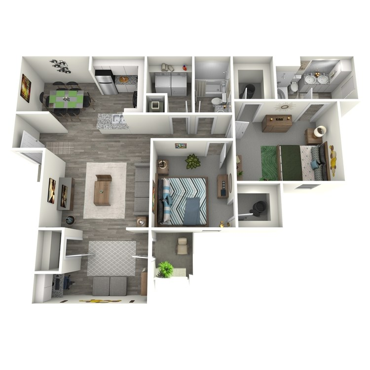 Floor plan image of Cambridge Sunroom