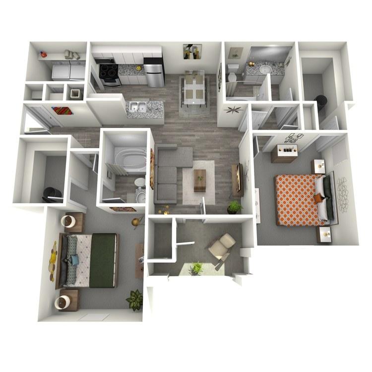 Floor plan image of Davenport