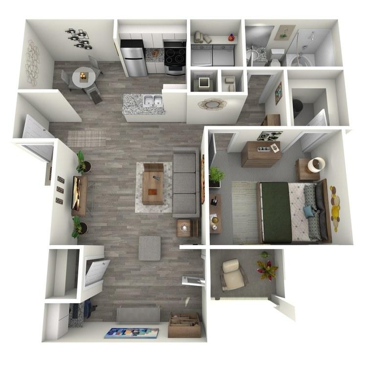 Floor plan image of Arlington Sunroom