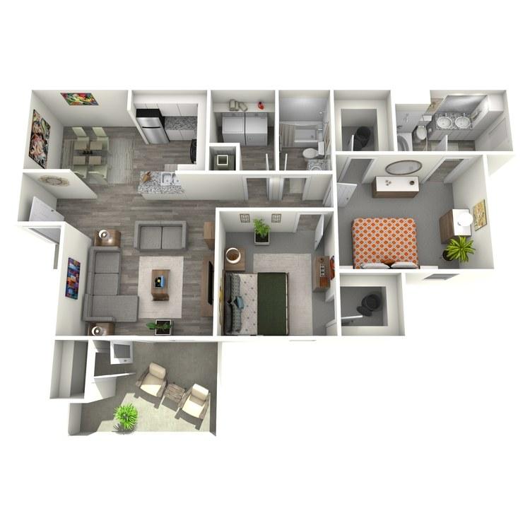 Floor plan image of Cambridge