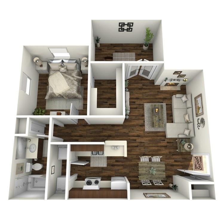 Floor plan image of A4-R