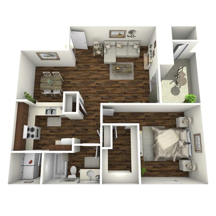 Floor plan image of A5-R