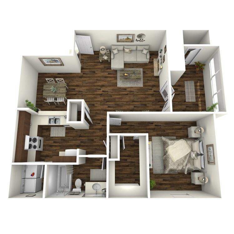 Floor plan image of A6-R