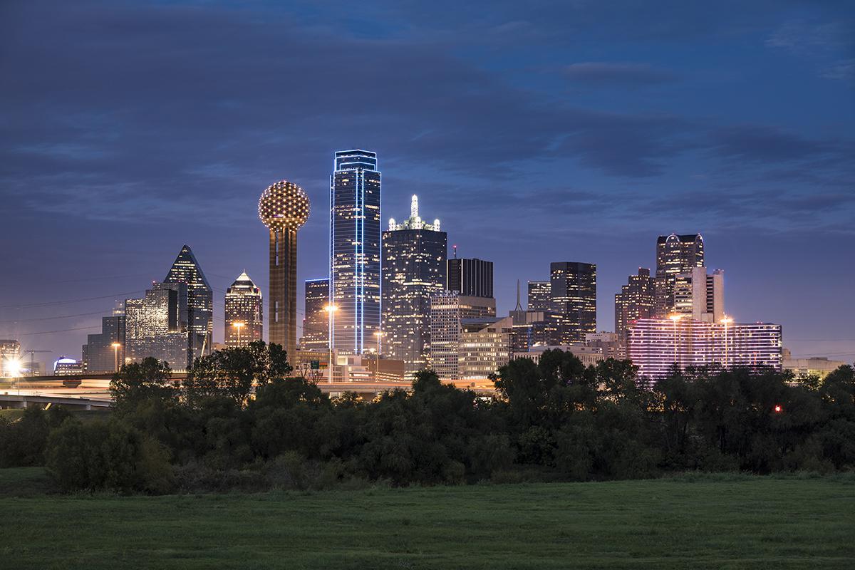 Dallas Skyline Photo