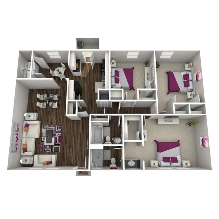 Floor plan image of Camelia