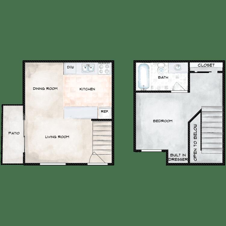Floor plan image of Loft