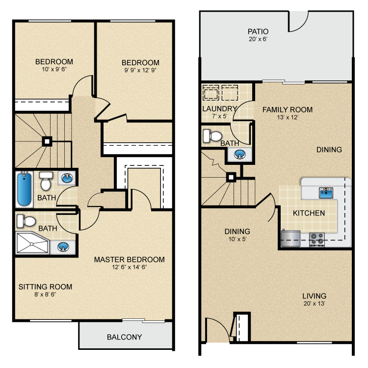 Townhouse Plaza Apartments - Availability, Floor Plans & Pricing