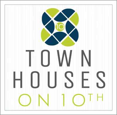 Townhouses on 10th Logo