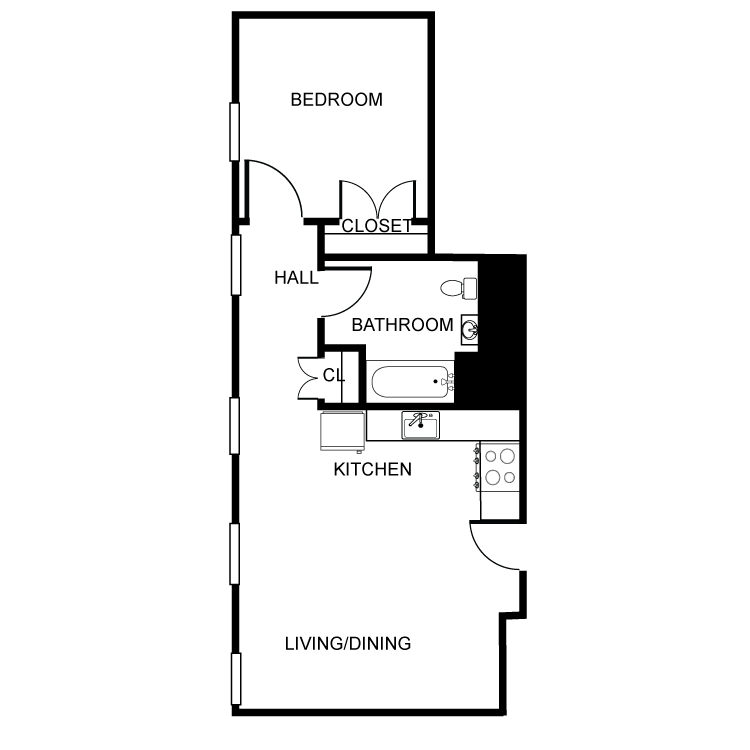 Floor plan image of The Concord